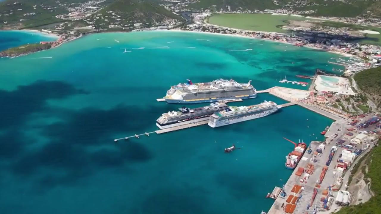 St Martin Before After Destruction By Hurricane Irma Air View Youtube