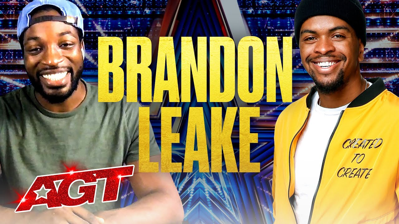 Beyond the Stage Brought to You by Dunkin': Brandon Leake - America's Got Talent 2020