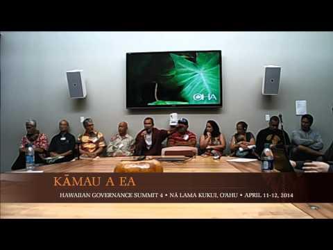 Kamau a Ea 4 - Q/A Afternoon Session