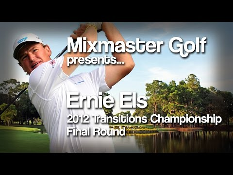 Ernie Els - 2012 Transitions Championship Final Rd - Mixmaster Golf