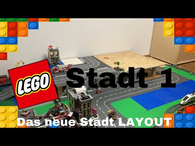 Lego Stadt 1 / Das neue Stadt Layout