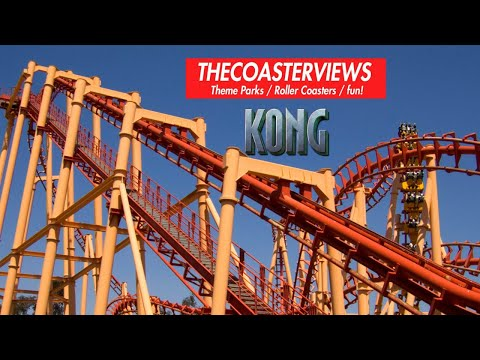 Kong (HD POV Front) On-Ride Six Flag's Discovery Kingdom