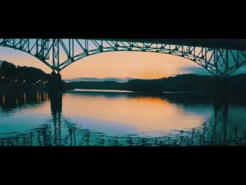 Quadcopter footage of Highland Park Bridge, Allegheny River, Pittsburgh