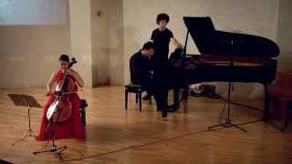 Beethoven Cello Sonata no. 3 / Ron Regev & Telalit (All sonatas in one concert) טללית צ'רסקי