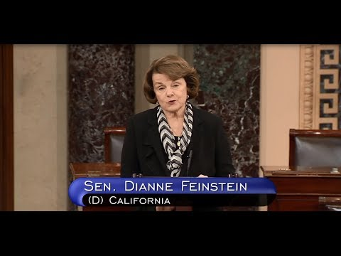 Senator Feinstein on Iran Sanctions
