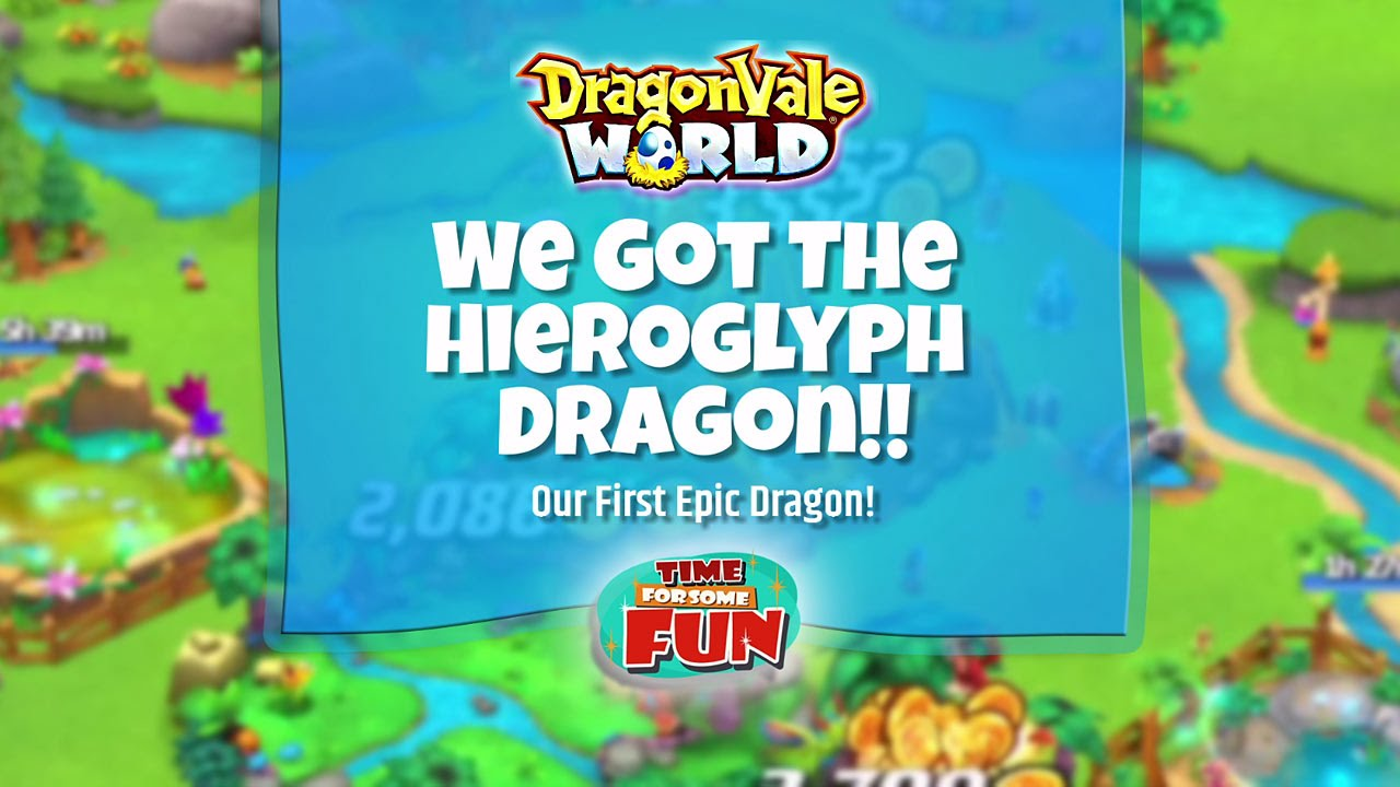 how to get the hieroglyphics dragon in dragonvale world