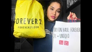 TRY ON HAUL | FOREVER 21 + UNIQLO | SUMMER 2017