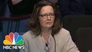CIA Director Nominee Gina Haspel: 'I Don't Believe That Torture Works' | NBC News