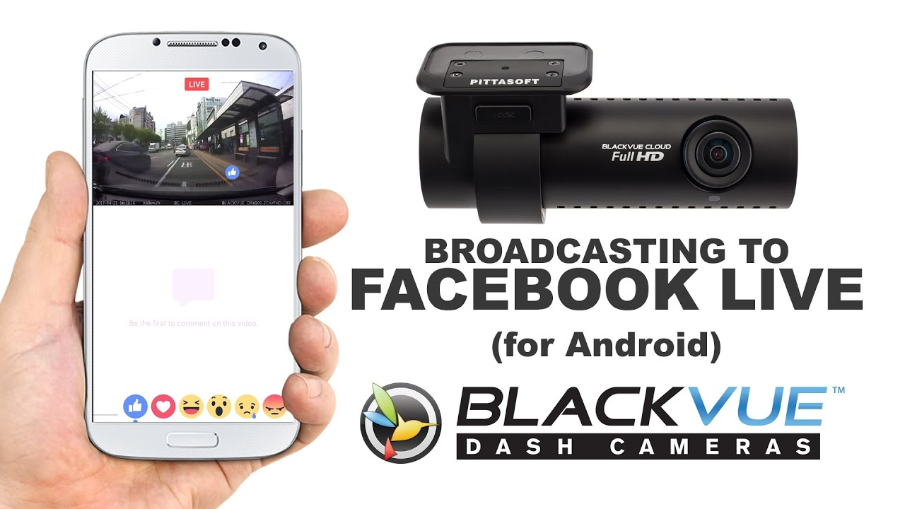 [BlackVue App Tutorial] Broadcasting to Facebook Live (Android)