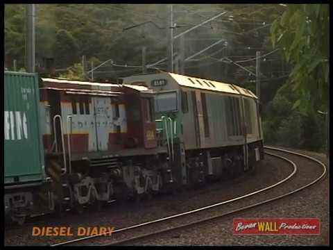 Download Australian  locomotives EL64, EL61, 4814 & 8105 - Short North - June 2000