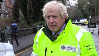 video: Boris Johnson suggests Covid lockdown could last until summer