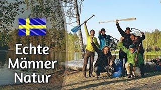 1 Woche Kanutour & Männer Selbsterfahrung in Schweden mit Mischa Miltenberger
