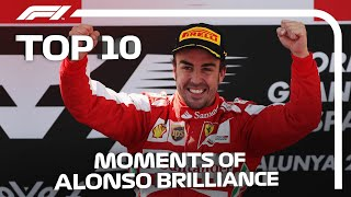Top 10 Moments Of Fernando Alonso Brilliance