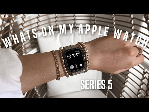 WHATS ON MY APPLE WATCH (series 5)