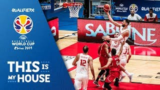 Tunisia v Egypt - Highlights - FIBA Basketball World Cup 2019 - African Qualifiers