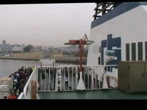 Ferry from Yantai to Dalian