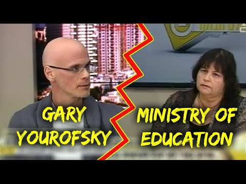 LIVE DEBATE: Gary Yourofsky vs. The Ministry of Education