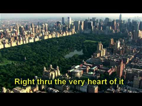"HD  Frank Sinatra ""New York, New York"" with Lyrics"