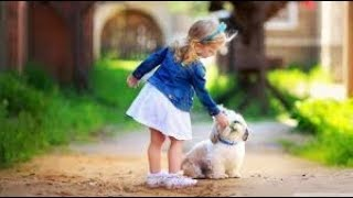 Amazing Funny Cute Dogs Playing With Girl #14