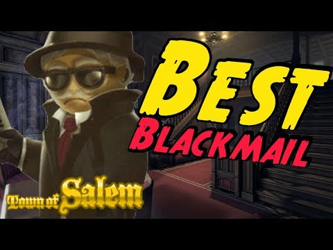 MY BEST BLACKMAIL | Town of Salem Ranked