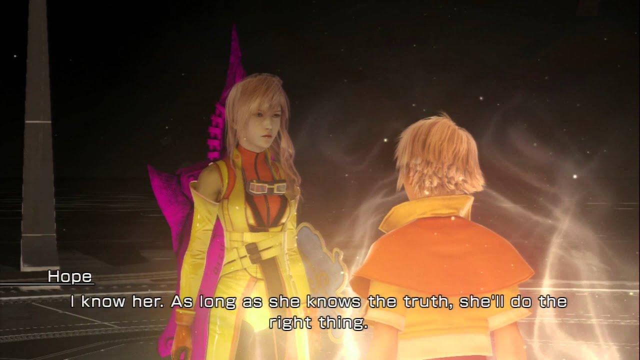 Lightning Returns FF XIII Final Day At Ark Hope Vanille