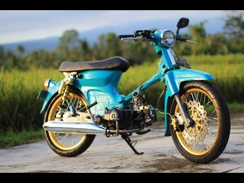 Motor Trend Modifikasi Video Modifikasi Motor Honda C70 Si Pitung