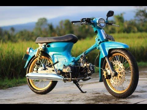 Gambar Honda C70 Modifikasi Keren Terbaru Kumpulan Foto