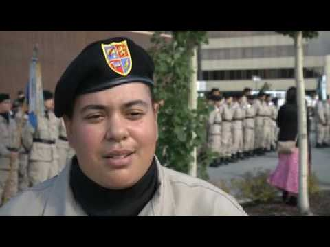 Alaska Military Youth Academy cadets lead Fourth of July parade