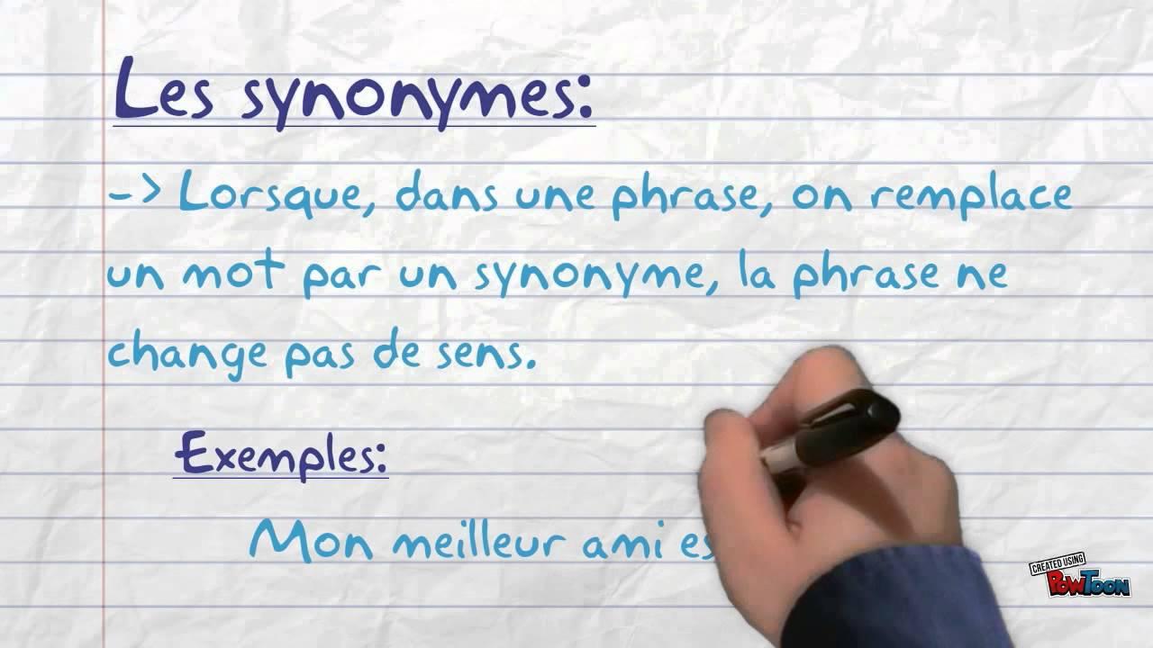 Synonym MГјde