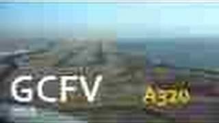 Swiss a320 Fuerteventura Cockpit Landing : LONG VERSION HD