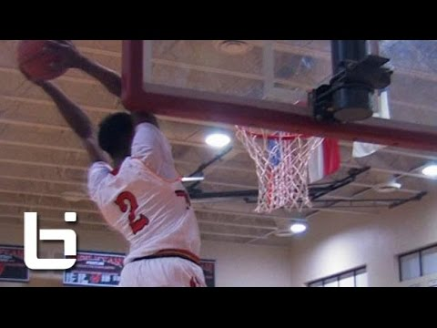 Kwe Parker has the Most Bounce in High School Basketball: Junior Year Mixtape