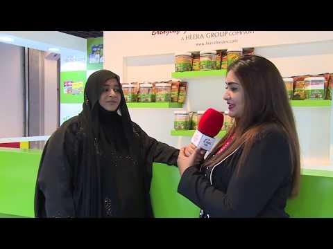 Dr. Nowhera Shaik at Gulfood Dubai with her Brand Heera Foodex