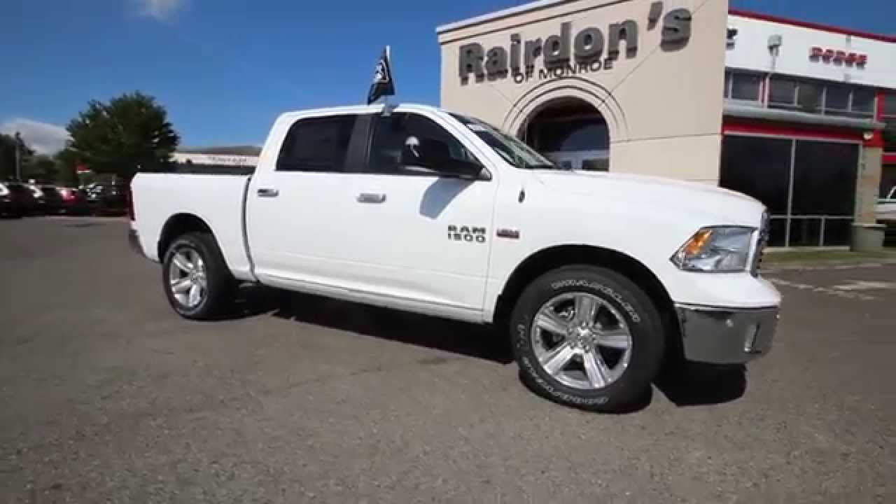 2014 dodge ram 1500 big horn crew cab white es394165 everett snohomish youtube. Black Bedroom Furniture Sets. Home Design Ideas
