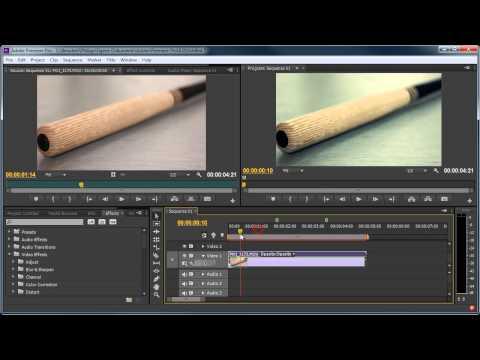 Adobe Premiere Pro CS6 Basics #1 [Tutorial German]