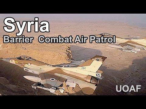 Falcon 4 BMS Syria Barrier Combat Air Patrol