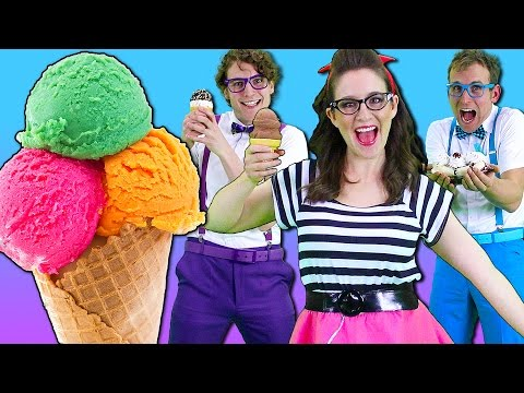 Ice Cream Song - Songs for Children | Nursery Rhymes from Bounce Patrol!
