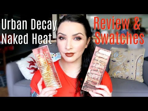 Urban Decay Naked Heat Palette - review & swatches
