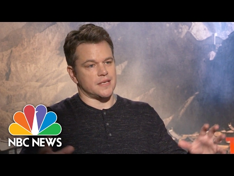 Thumbnail: Matt Damon: 'The Great Wall' Is 'Bigger Than Anything I've Ever Been Part Of' | NBC News