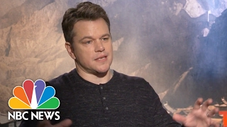 Matt Damon: 'The Great Wall' Is 'Bigger Than Anything I've Ever Been Part Of' | NBC News