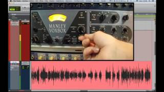 Mixing vocals with Manley Voxbox Channel Strip