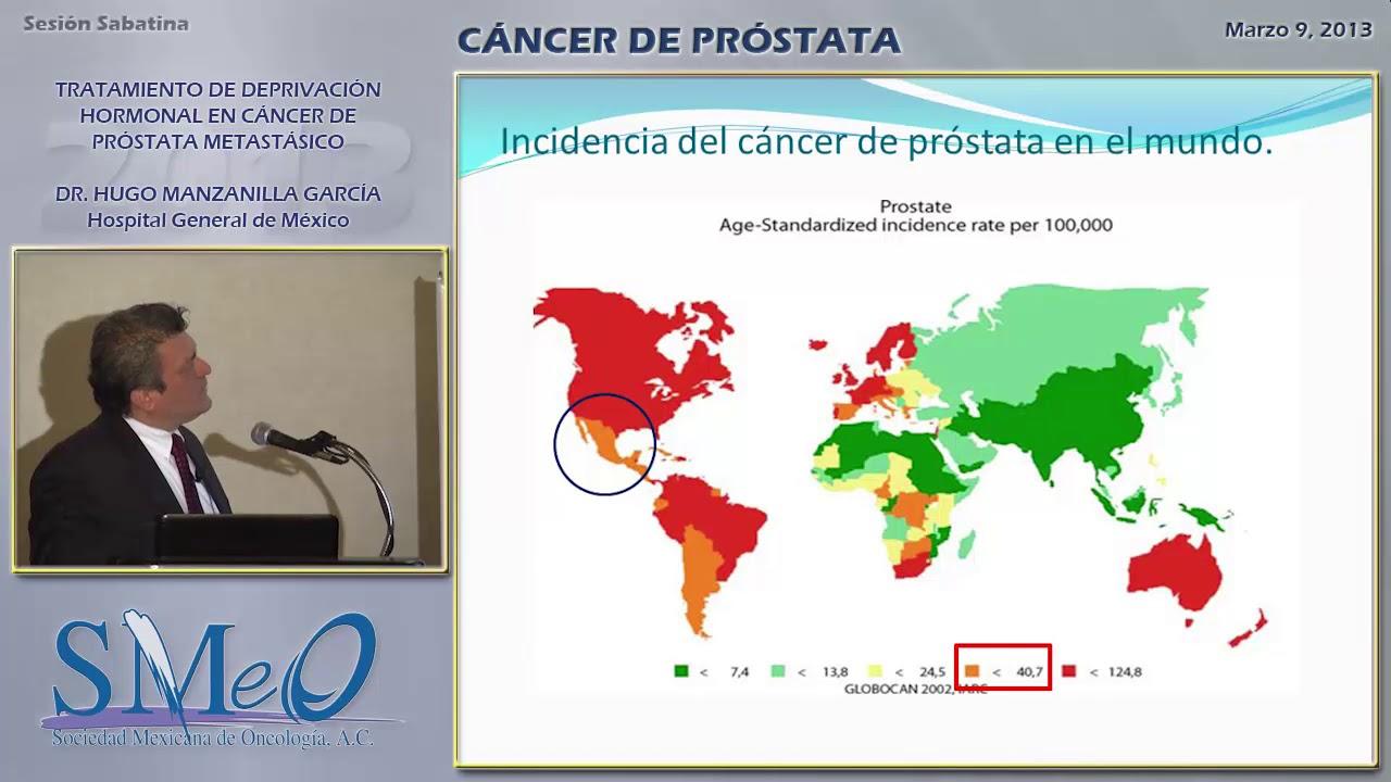 tratamiento hormonal para el cáncer de próstata metastásico