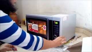 How to Use LG Microwave Convection 1 Demo