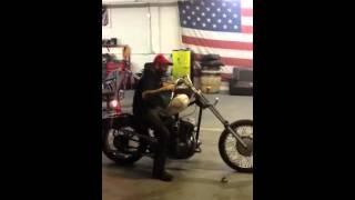 45 magnum Harley Davidson vintage dreams