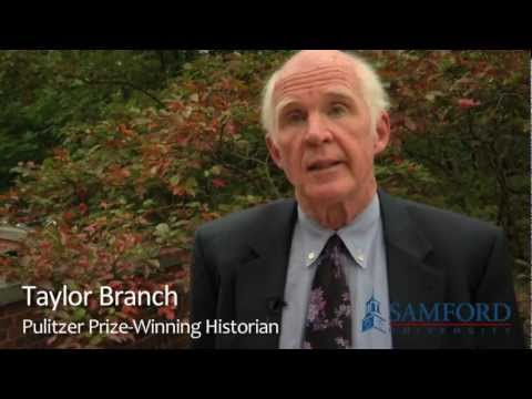 Taylor Branch Visits Samford