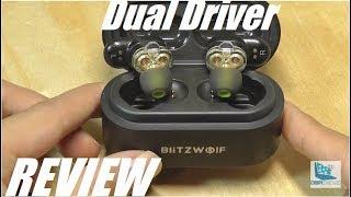 REVIEW: Blitzwolf BW-FYE7 Dual Driver TWS Wireless Earbuds!