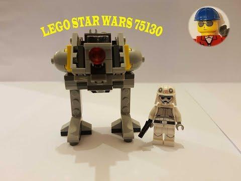 Lego Star Wars 75130 el AT-DP construcción y reseña.