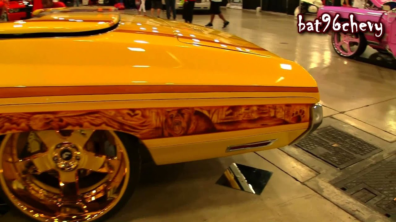 "CUSTOM 71 Impala Donk Vert on 24"" 24K GOLD Forgiatos ..."