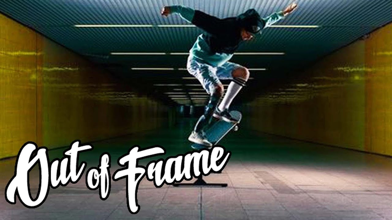 Skateboard Picture Frame the skateboarder with an artificial foot: clement zannini | out of