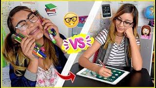 ÚTILES ESCOLARES ANTES vs AHORA!! - La Escuela ♥ Lulu99