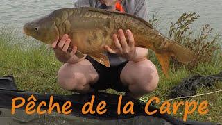 Pêche de la Carpe dans le Gers à l'étang du Domaine D'Escapa (HD)